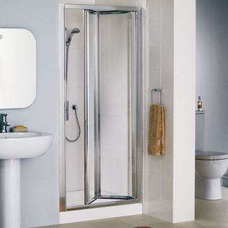 700mm Lakes BiFold Shower Door Bi Fold Doors Enclosures LK1B070 From Mbd Bathrooms