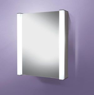 Velocity - Mirrored Bathroom Cabinet with Lights
