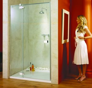 Lakes Shower -  Italia Vittoria Shower Door 1400mm
