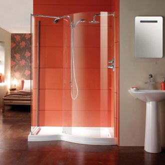 Manhattan Shower Enclosure 1400mm Walk-in