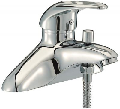 Mayfair Jet Chrome Bath Shower Mixer Tap JET003